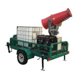 Environmental Protection Portable Water Mist Dust Suppression Sprayer