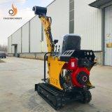 08t Mini Towable Backhoe Loader Hydraulic Crawler Excavator Digging Machine