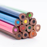 Children′s Favorite 12 Colored Pencils Are Used for Drawing