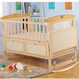 Delicate Wooden Style Baby Bed Baby Cot Design /Simple and Elegant Baby Swing and Bassinet