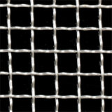 Plain Weave Stainless Steel Galvanized Metal Vibrating Screen Mesh Crimped Woven Wire Mesh