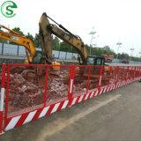 Economical Construction Site Fence Foundation Pit Guardrail