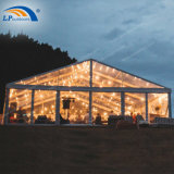 300 People Clear Span Aluminum Frame Transparent Wedding Marquee for Hire Event