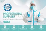 En 14126 Non Woven PPE Disposable Protective Coverall Clothing with Ce FDA From China Professional Manufacturer