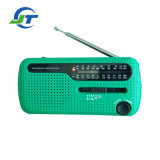 Emergency Noaa Weather Super Bright LED Torch Solar Crank Dynamo Radio