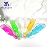 1 Liter Clear Colored Glass Bottle with Stopper Beverage Mineral Water Milk Glass Bottles