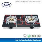 Hot Sale Tempered Glass Two Burner Gas Tove Home Cooker Kitchen Appliance