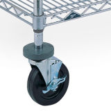 Caster for Metal Wire Shelving (Wire Shelf Accessory)