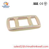 30mm-50mm Galvanized Steel One Way Lashing Buckle for Strap