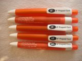 Events Campaign Promotional Gift Bright Orange Plastic Ball Pen