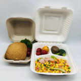 Eco-Friendly Sugarcane Pulp Takeaway Containers Food Container