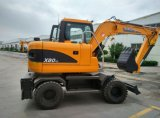 High Quality Wheel Excavator with Price for Sale in China in Asia