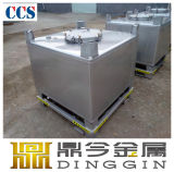 Ss304 1000L Stainless Steel IBC Tote Tank for Liquid