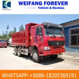 Sinotruk HOWO Used Dump Truck 371HP 10 Wheels / Tyres with 30t Tipper Body