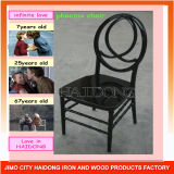 Cheap Price High Quality Black Resin Phoenix Chair for Events