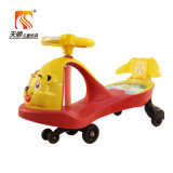 Factory Directly Wholesale Plastic Kids Twist Car with Backrest