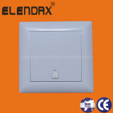 EU Style Flush Mounting Doorbell Wall Light Switch (F6006)