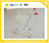 Hand Push Cart Hand-Baskets Cart/Shopping Cart/Three Basket Shopping Trolley