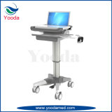 Movable Medical and Hospital Products Laptop Cart