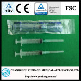 "Luer Slip 5ml with Needle 21gx1 1/2"" PE Bag Sterile Disposable Syringe"