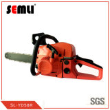 "High Effficient Gasoline Engine Chain Saw with 20"" Bar"