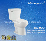 Bathroom Accessories Ceramic Water Closet Two Pieces Style (DL-032)