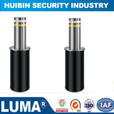 Fixed Bollards Warning Post Roadway Safety Bollard Steel Safety Bollard