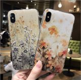 New Ultra Slim 3D Textured Printing Flower Patterns TPU Case for iPhone X