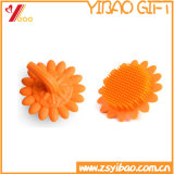 Spot Silicone Bath Brush, Silicone Soft Cleaning Body Flowers Brush (XY-BS-128)