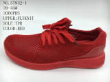 Good Price Men Breathable Sport Shoes with Flyknit Upper