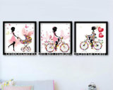 Lovely Girl Wall Frame Pictures for Room Decoration