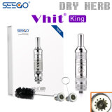 Healthy Vaporizer Seego E Cigarette V-Hit King Herb Vaporizer