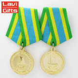 Wholesale Gift Custom United States Replica German Soldier Military Religious Army Award Medallion Ribbon for Medal Sale