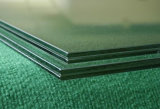 Double Laminated Glass with Color Wired Pattern for Construction House