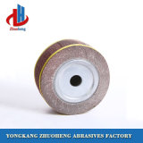 Mounted Grinding Abrasive Flap Wheels for Steel and Wood (FW2533)