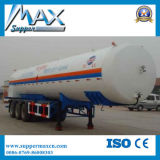 Shock Price 3 Axles 35000L-60000L Crude Oil Transport Tank Trailer Fuel Tanker Semi Trailer