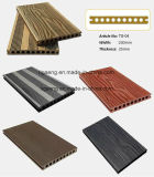 Salt Water Resist WPC Wood Splinter-Free WPC Decking Panel