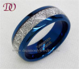 Blue Tungsten Ring Men's Thumb Ring Jewelry Factory