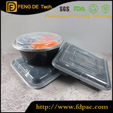 Wholesale Price Microwavable Rectangle 5 Grid Disposable Plastic Food Container