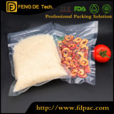 Cheap Transparent Vacuum Embossed Plastic Bags for Rice Packing