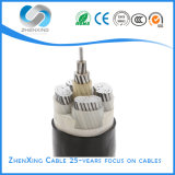 Muti-Core Aluminum Conductor XLPE Insulated PVC Jacket Armoured Electric Power Wire Cable
