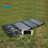 Factory OEM 21W Folding Solar Charger with Dual USB Port