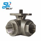Factory Price Industrial Manual Ss Stainless Steel Floating Ball Valve with Handle for Water Oil Gas