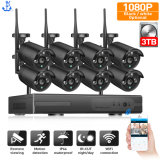 2MP CCTV Camera 1080P 8CH HD Video Surveillance 3tb HDD Outdoor IR Night IP WiFi Camera Security System Wireless NVR Kit