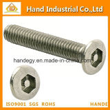 Stainless Steel Flat Head Torx Socket Pin Security License Screws