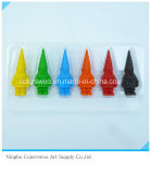 78g 12PCS 3D Plastic Crayons for Students and Kids