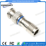 CCTV Waterproof Rg59 Cable BNC Connector for Surveillance System (CT5078S/RG59)