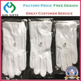 Wholesale 100% Cotton Gloves with Embroidery Logo