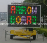 Solar Self Chargeable Mobile Multi Color Traffic Sign Animation High Quality with Competitive Price