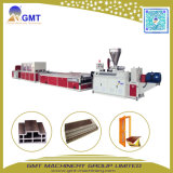 Plastic Wood Composite WPC Wide Door Board Making Machine Extruder
